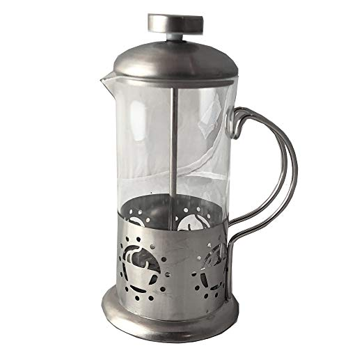 French Press Single Serving Coffee Maker, Small Affordable Coffee Brewer with Highest Filtration, 1 Cup Capacity (12 fl…