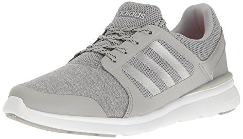 new concept 2b999 93b86 adidas Womens Cloudfoam Xpression W Running Shoe, Clear OnixMatte  SilverWhite,