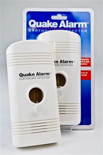 MayDay Earthquake Alarm with Early Detection Feature