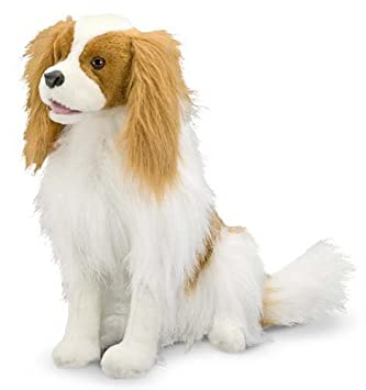 amazon melissa doug cavalier king charles spaniel lifelike