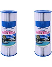 Alford & Lynch Replacement Pool Spa Filter, for Unicel C-4326, Spa Filter FC2375, Pleatco PRB25-IN (2)