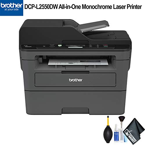 Brother DCP-L2550DW All-in-One Monochrome Laser Printer (DCP-L2550DW) Essential Bundle ()