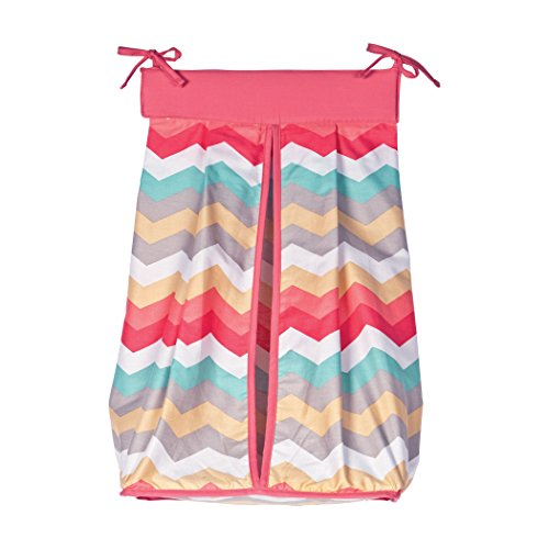 Trend Lab Waverly Pom Pom Play Diaper Stacker (A Baby Diaper Stacker)