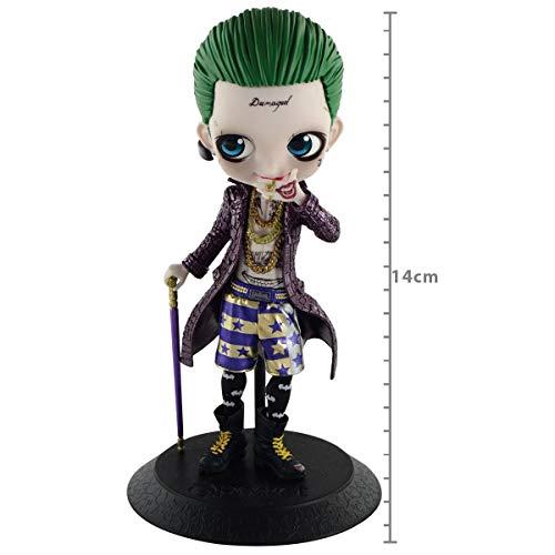 Dc Comics Q Posket Suicide Squad - Joker (mod. A) Coringa - Ref 28945/28946 Bandai Banpresto Cores Diversas, Feita Com Pintura Aerográfica