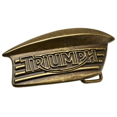 Review Triumph Bonneville Tank Badge