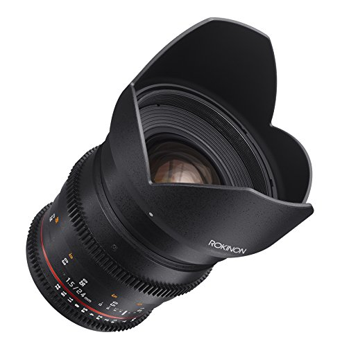 Rokinon Cine DS DS24M-C 24mm T1.5 ED AS IF UMC Full Frame Cine Wide Angle Lens for Canon EF (Best Rokinon Cine Lens)