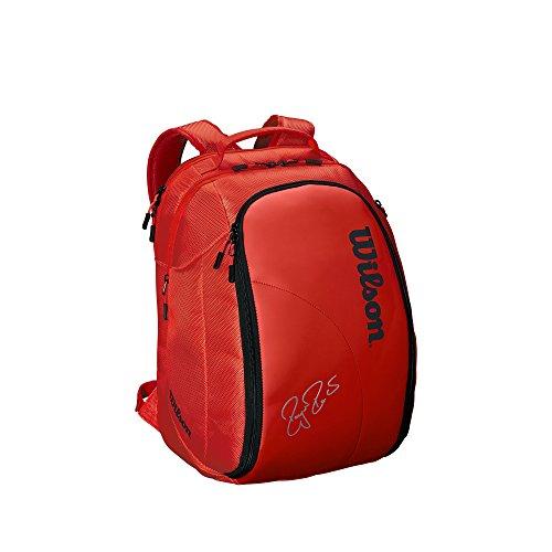 Wilson Sporting Goods Federer DNA 2018 Backpack, Infrared