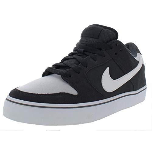 - Nike SB Mens Dunk Low LR Suede Lifestyle Skateboarding Shoes Gray 9 Medium (D)