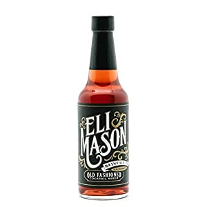 Old Fashioned Mix - Cocktail Syrup Mixer Bottle with Premium Bitters, Natural Cane Sugar & Gomme Syrup - Quick, Easy & USA Made in Nashville by Eli Mason
