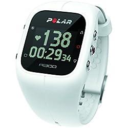 Polar Men's A300 90054234 White Silicone Quartz Watch