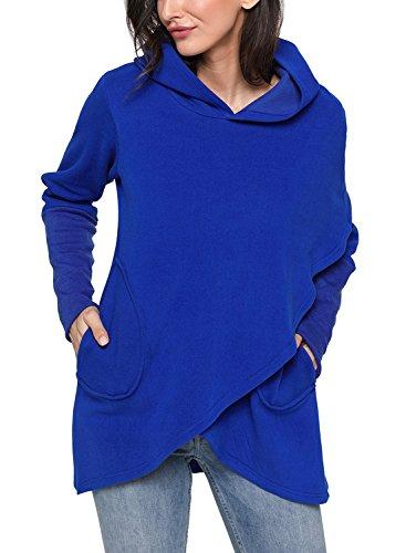 FIYOTE Bleu Shirt Sweat Femme Sweat FIYOTE qwxaBqrXg