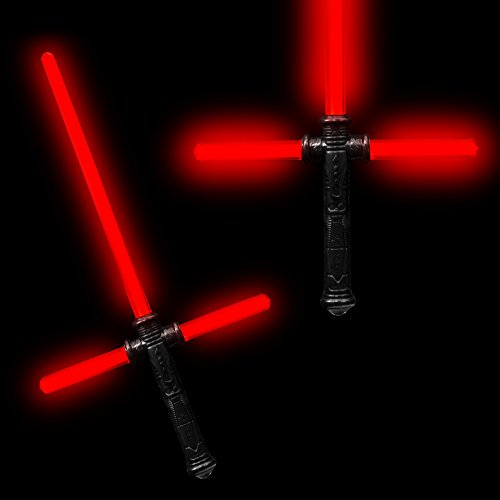 Fun Central AU207 LED Detachable 27 Inch Tri-Saber with Sound - Red ()