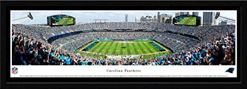 (Carolina Panthers - 42x15.5-inch Single Mat, Select Framed Picture by Blakeway Panoramas)
