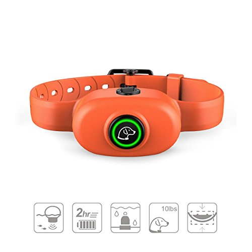 Anti Bark Collar - Safe No Bark Collar, Rechargeable, Waterproof with Intelligent Vibration, Beep and Static Shock Training Mode for Small Medium Large Dog