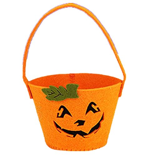 Aifang Happy Halloween Candy Bags Party Holiday Trick or Treat Tote Bag Costume Accessory Totes Bag for Kids (Style 9) (Amazon Holiday Gift Baskets)