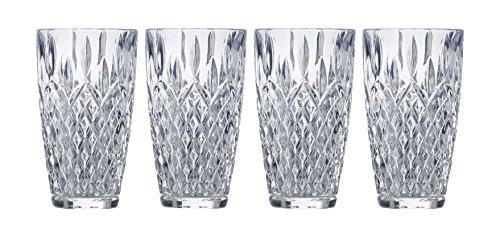 Mikasa Harding Highball Glass, 11.7-Ounce, Set of -