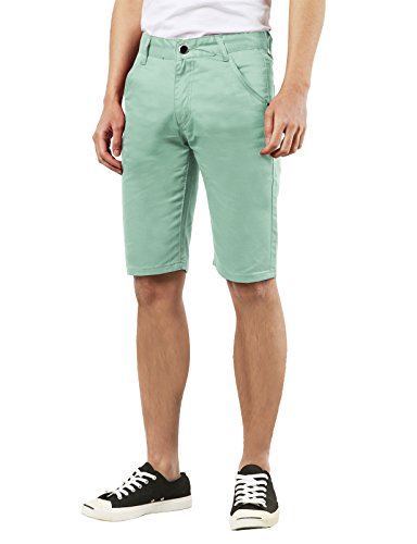 Slim Casual Straight Shorts Pockets