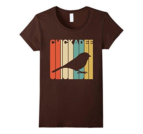 Womens Vintage Style Chickadee Silhouette T-Shirt Medium ...