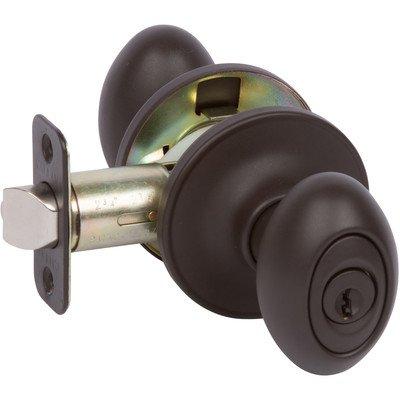 Callan Carlyle Keyed Door Knob Finish: Oil Rubbed Bronze