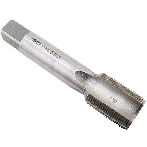 KMIAN TOOLS 30mm X 1.5 Metric HSS Right Hand Machine Tap, Plug Tap, Right Hand Thread Tap M30 X 1.5mm