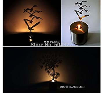 4f34b965d7897 Image Unavailable. Image not available for. Color  1Piece Lumen Oil Candle  Shadow Projectors ...