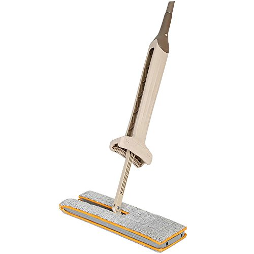 FTXJ Double-Side Dry and Wet Flat Mop Hands-Free Washable Home Floor Cleaner (Mop) by FTXJ
