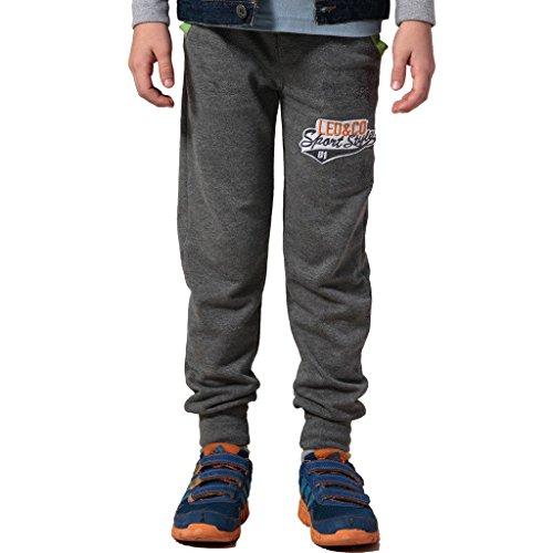 Fleece Husky Rib Waist Joggers Sweatpants (Gray, 14) ()