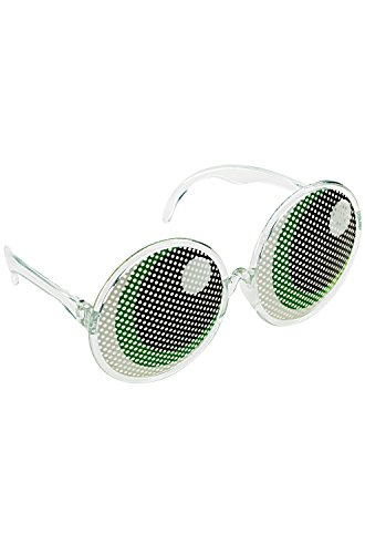 Disguise Women's Buttercup Adult Glasses, Green, One
