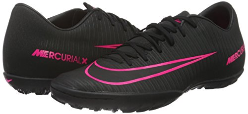 Nike Noir Victory Chaussures Tf De Homme Football black black Vi Mercurialx xF678rx1