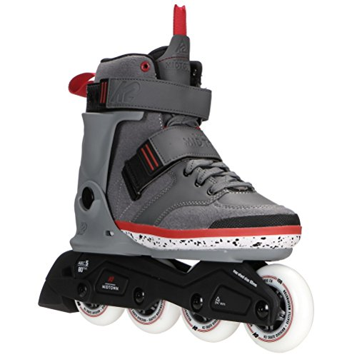Line Mens Skate In Aggressive (K2 Skate Midtown Inline Skates, Gray, 12)