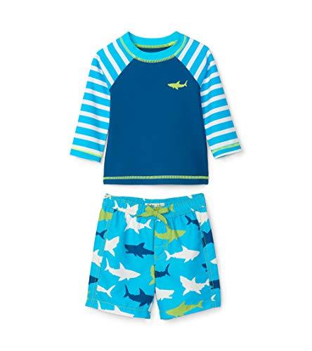 Hatley Rash Guard Swimsuit Sets baby jongens Zwemshirtset