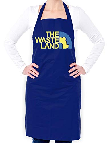 Dressdown The Waste Land - Unisex Fit Adult Apron - Royal Blue - One Size from Dressdown