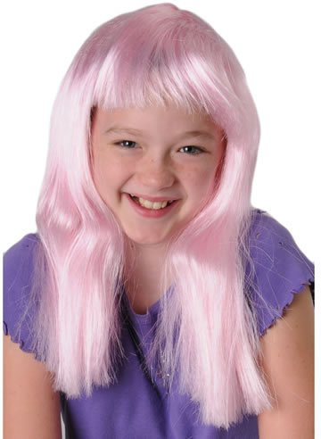 dolly2u Neon Pink Costume Wig Case Pack 7 (Goddess Costume Diy)
