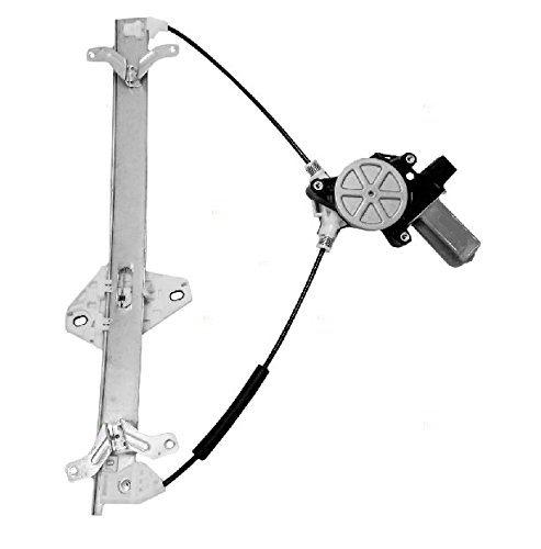 Front Passenger Power Window Regulator with Motor (2 pins in plug) NEW Replacement for 2004 - 2008 Acura TSX 72210-SEC-A02 AC1351101