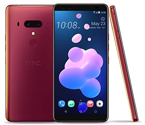 "HTC U12+ Factory Unlocked Phone - 6"" Screen - 64GB - Flame Red (U.S. Warranty)"