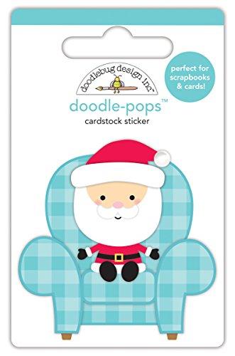 Doodlebug Designs Santa Visit Doodle-Pops Dimensional ()