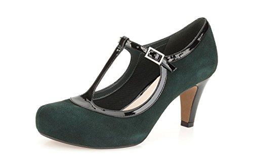 Clarks Womens Chorus Thrill Ankle Strap Dark Green IhQLWhd68t