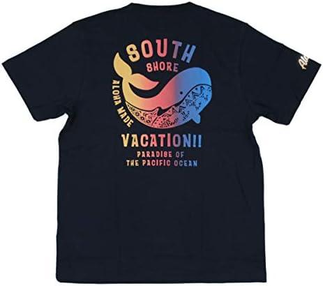 ALOHA MADE アロハメイド メンズ 半袖 Tシャツ (メンズ / D.ネイビー) 202MA1ST063D.NVY フララニ サーフブランド ハワイアン 雑貨 (L)