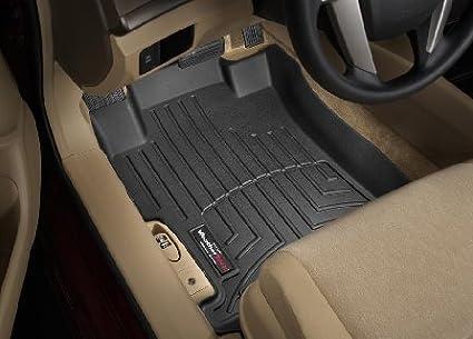 2008 2012 Honda Accord Sedan Black Weathertech Floor Liner (Full Set)