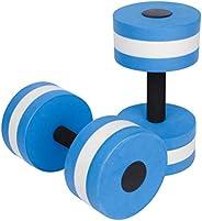 ifundom Water Dumbbells, Set of 2 Water Aerobics Swimming Pool Dumbbells for Exercise, High- Density EVA- Foam