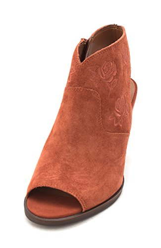 Suede Oiled Brand Red pour Lucky Femme Bottes Oak x8RU4wqBw