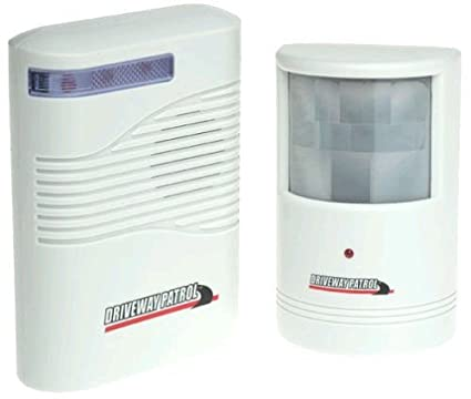 Amazon.com : Driveway Patrol Wireless Motion Sensor Detector Alarm Infared Alert System 400ft : Camera & Photo