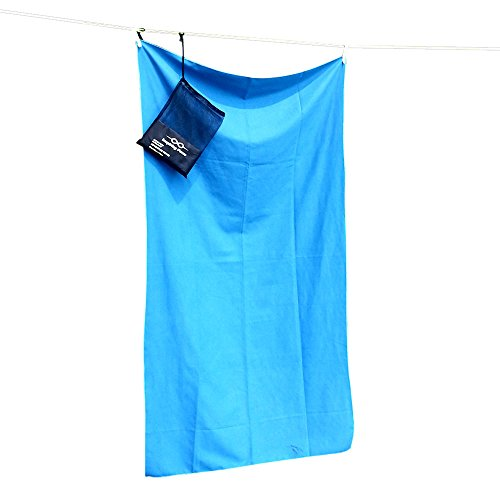 Inspiring Force Microfiber Towel Quick Dry for Camping, Compact and XL by Inspiring Force