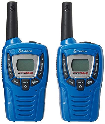 Cobra CXT332 Kids' Walkie Talkies Two-Way Radios Toy for Kids, Blue (Pair)