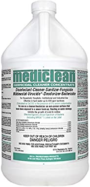 Mediclean Germicidal Cleaner Concentrate, Disinfectant, Sanitizer, Deodorizer, Fungicide, Mildewstat, Virucide
