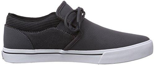 Supra Cuba Herren Sneakers Grau (GREY / BLACK - WHITE   GBK)