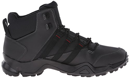 Adidas Mens Esterni Cw Ax2 Beta Metà Avvio Escursioni Nero / Vista Grigio / Rosso Di Alimentazione