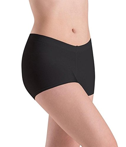 Motionwear Low Rise Shorts, Black, Large - Shorts Motionwear