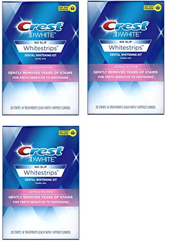 Crest 3D White Whitestrips Gentle Routine Teeth Whitening Ki