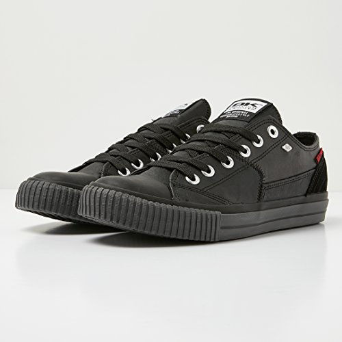 Sneaker Black Uomo Dive Knights top Low British Da pqrpfPw